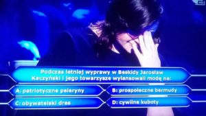 tvn zakpił z Jarosława Kaczyńskiego