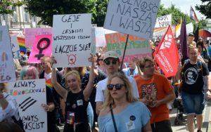Marsz równości zablokowany w Poznaniu