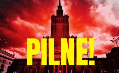 Warszawa, Sąd Najwyższy: Trwa akcja policji, tuż po godzinie 9 ewakuowano budynek Sądu Najwyższego i IPN, istnieją domysły że to bomba, policja milczy.