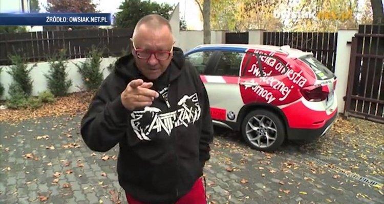 Jerzy Owsiak wściekły, wybory, Jurek Owsiak Facebook, Instagram Lider WOŚP