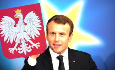 Emanuel Macron od samego początku sprawowania urzędu prezydenta Francji zasłynął z olbrzymiej krytyki pod adresem Polski i Polskiego rządu.