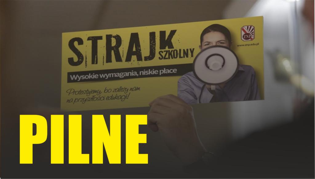 Strajk nauczycieli: Widmo ponownych protestów w polskich szkołach powróciło do wiadomości publicznej. Potwierdził to Sławomir Broniarz (ZNP).