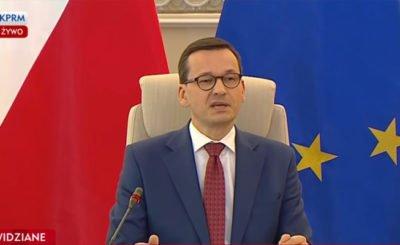 Mateusz Morawiecki (PiS) ostro wypowiedział się o budżecie unijnym, premier Polski walnął pięścią w stół UE podczas spotkania Grupy Przyjaciół Spójności
