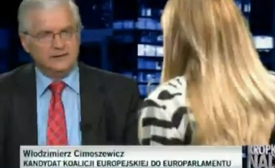 Kropka nad i Monika Olejnik Cimoszewicz roszczenia. Monika Olejnik TVN, Cimoszewicz 447