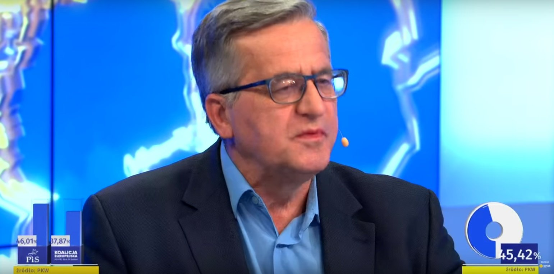 Bronisław Komorowski wyborcy PiS, wybory do europarlamentu 2019, Twitter Komorowski obraził wyborców