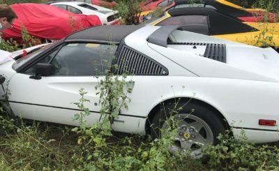 Ferrari, FerrariChat, porzucone pod gołym niebem klasyki / Paul C