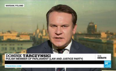 Dominik Tarczyński PiS wywiad szwedzka telewizja. Prawo i Sprawiedliwość.
