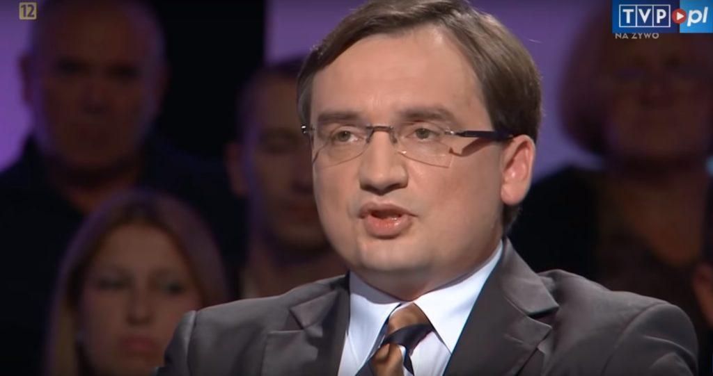 Zmiana przepisów, Zbigniew Ziobro