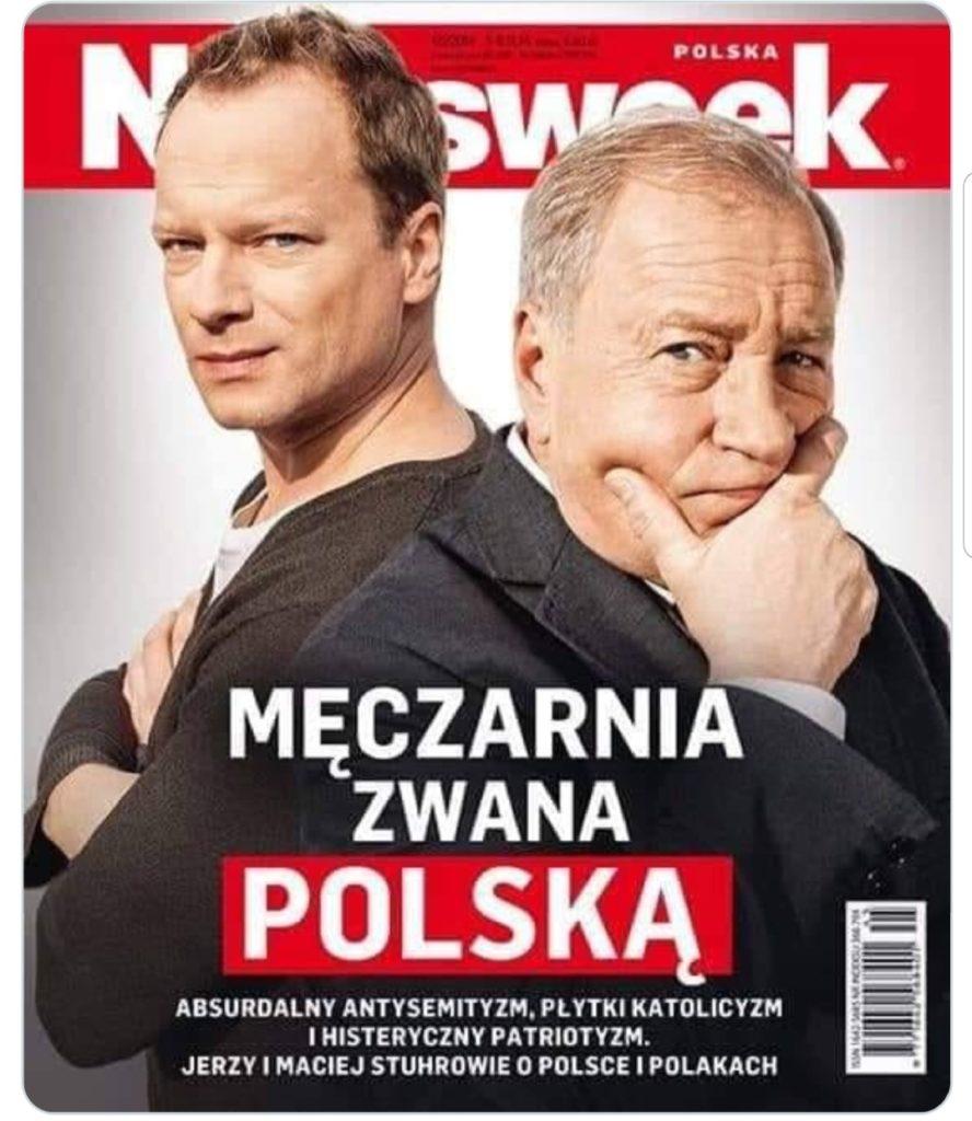 Facebook Tomasz Lis (Newsweek, a dawniej TVP, TVN i Polsat) zaprosił do wywiadu Macieja Stuhra i Jerzego Stuhra. Doszło do skandalu