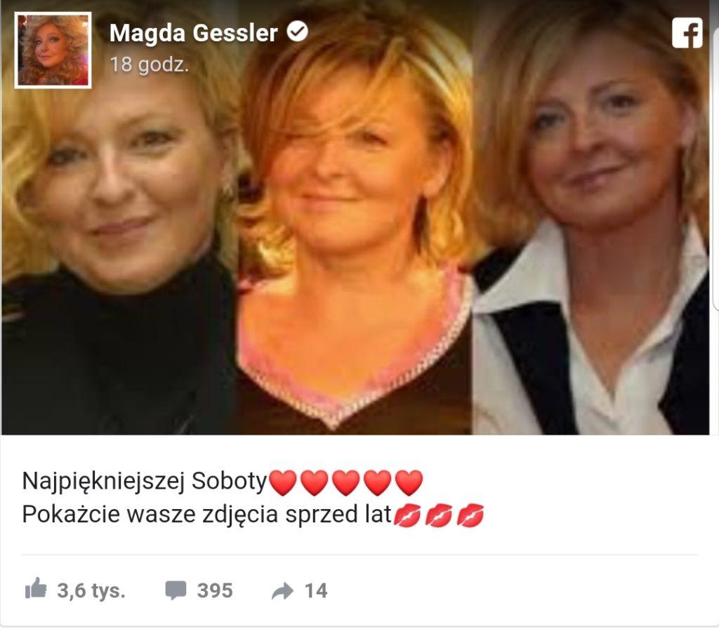 Jak wyglądała Magda Gessler jak była młoda? Z odpowiedzią spieszy instagram i Facebook. Gwiazda programu Kuchenne Rewolucje TVN właśnie dodała zdjęcia