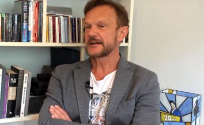 """Cezary Pazura jest jednym z najbardziej popularnych aktorów w Polsce. Podczas jednego ze swoich nagrań odpowiedział """"Kaczyński czy Tusk?"""""""