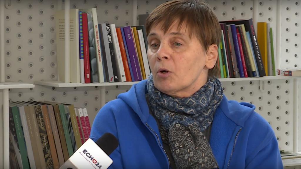 Wybory do PE 2019: Janina Ochojska (Koalicja Europejska) stwierdza, że też by nie podała ręki premierowi z PiS, Morawiecki na to nie zasługuje.
