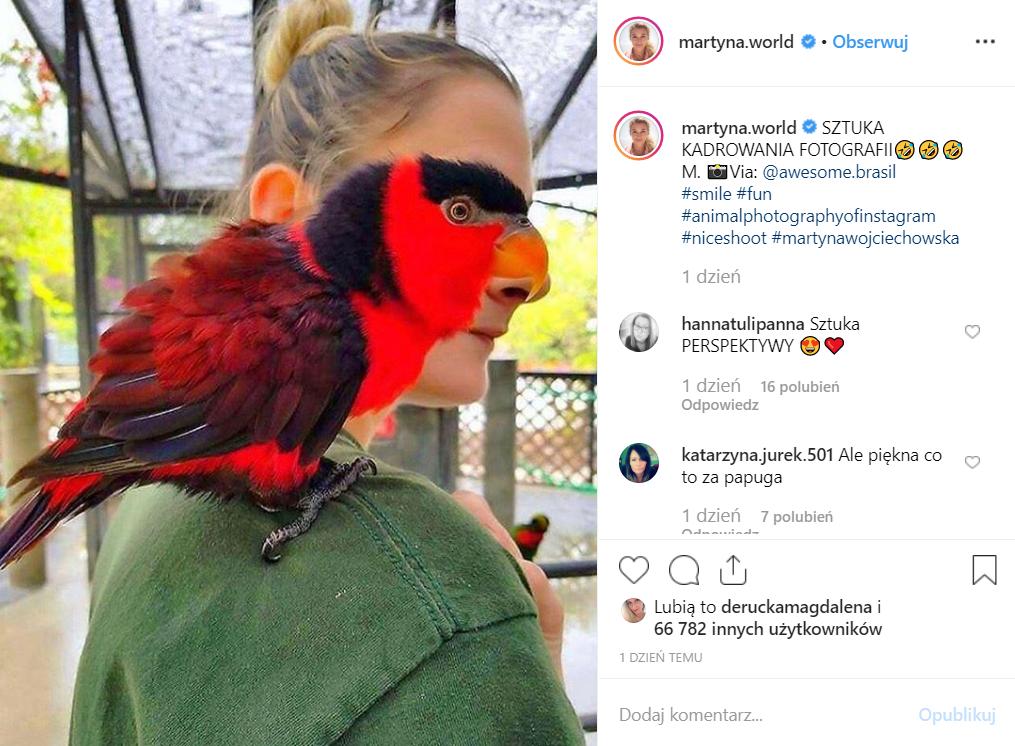 Martyna Wojciechowska ( Kobieta na krańcu świata, TVN) podzieliła się pięknym zdjęciem na portalu Instagram. Jej podróże są inspirujące.
