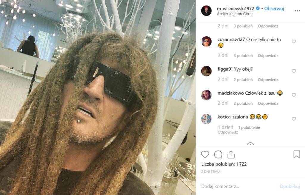 Metamorfoza jaką zaprezentował Michał Wiśniewski (Ich Troje) na portalu Instagram zszokowała fanów. Co na to Dominika Tajner, rozwód trwa.