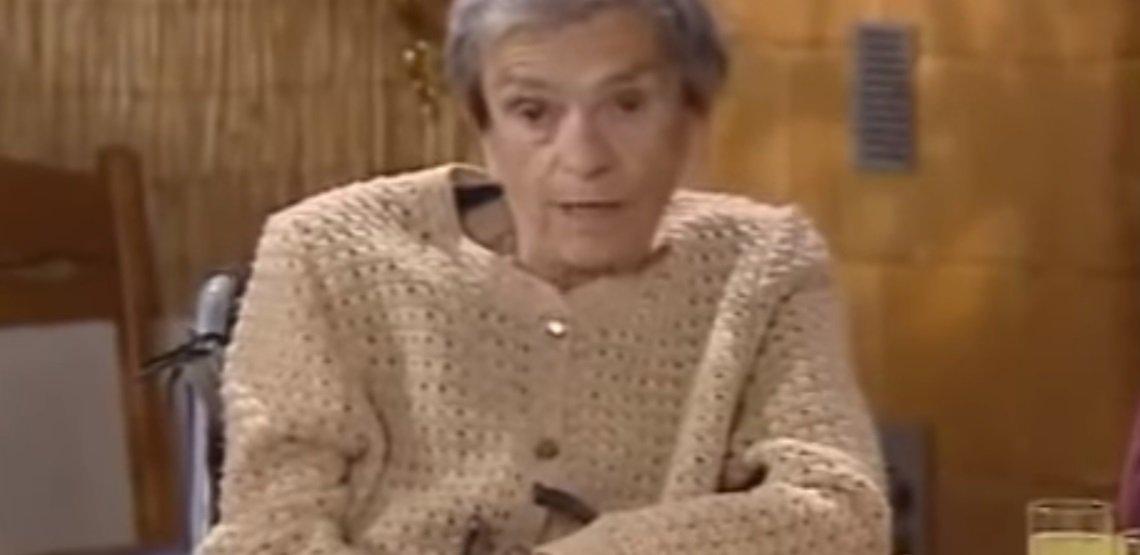 Świat według Kiepskich ipla tv Polsat, widzieliście jak wyglądałą babka Kiepska jak była młoda? Krystyna Feldman była piękną kobietą