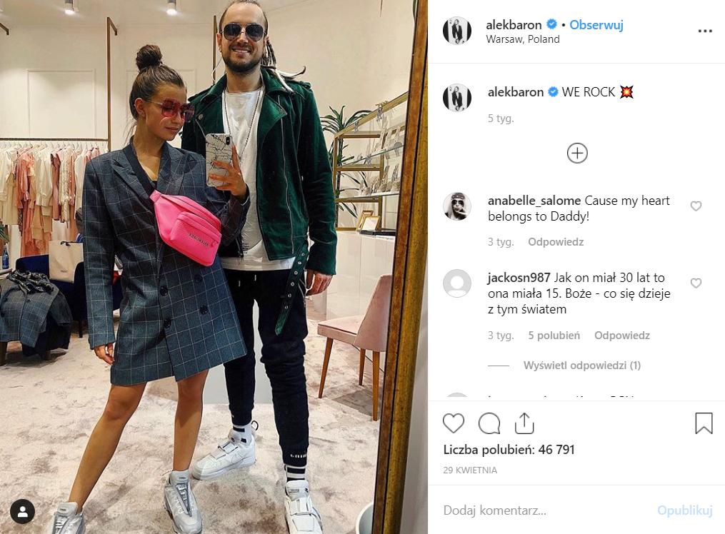 Wieniawa (Rodzinka.pl) traci kontrakt reklamowy, przyczyną Baron? Członek Afromental spotyka się z gwiazdą TVP. Zobacz na Instagram