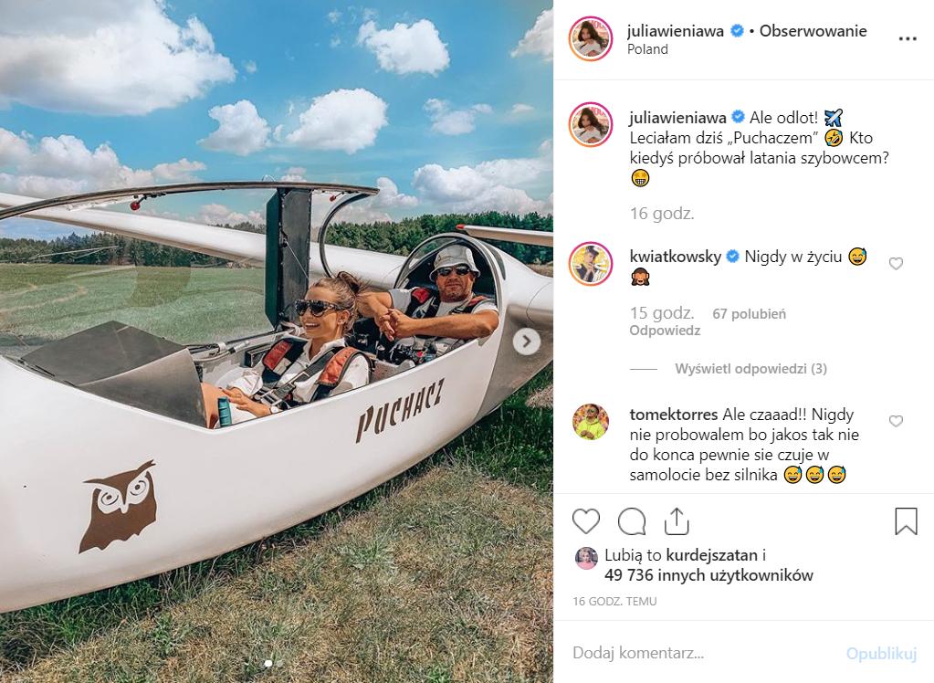 Czy Wieniawa i Gąsiewska (obie Rodzinka.pl, TVP) mają konflikt? Fani się nad tym zastanawiają, wystarczy spojrzeć na zdjęcia na portalu Instagram.