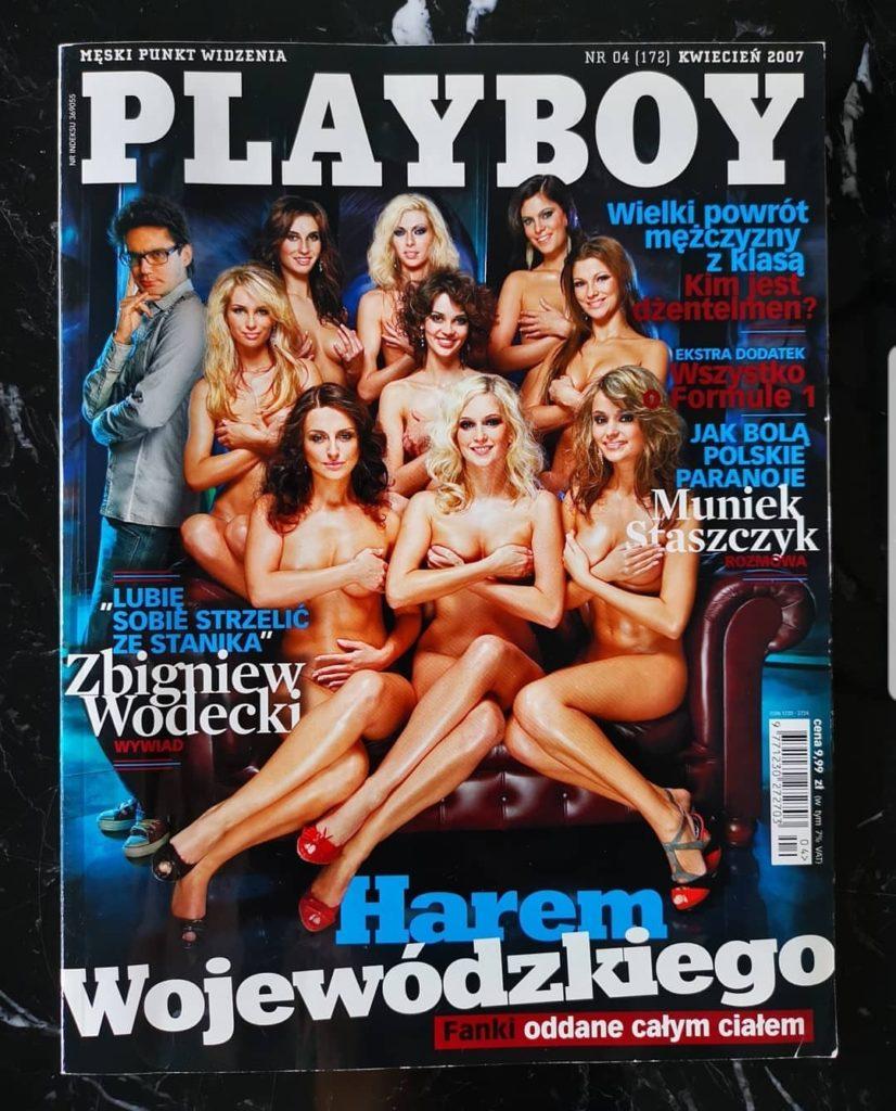 """Kuba Wojewódzki i Playboy? Gwiazda TVN i show """"Kuba Wojewódzki show"""" wstawił zdjęcie na instagram ze starej sesji dla magazynu dla panów."""