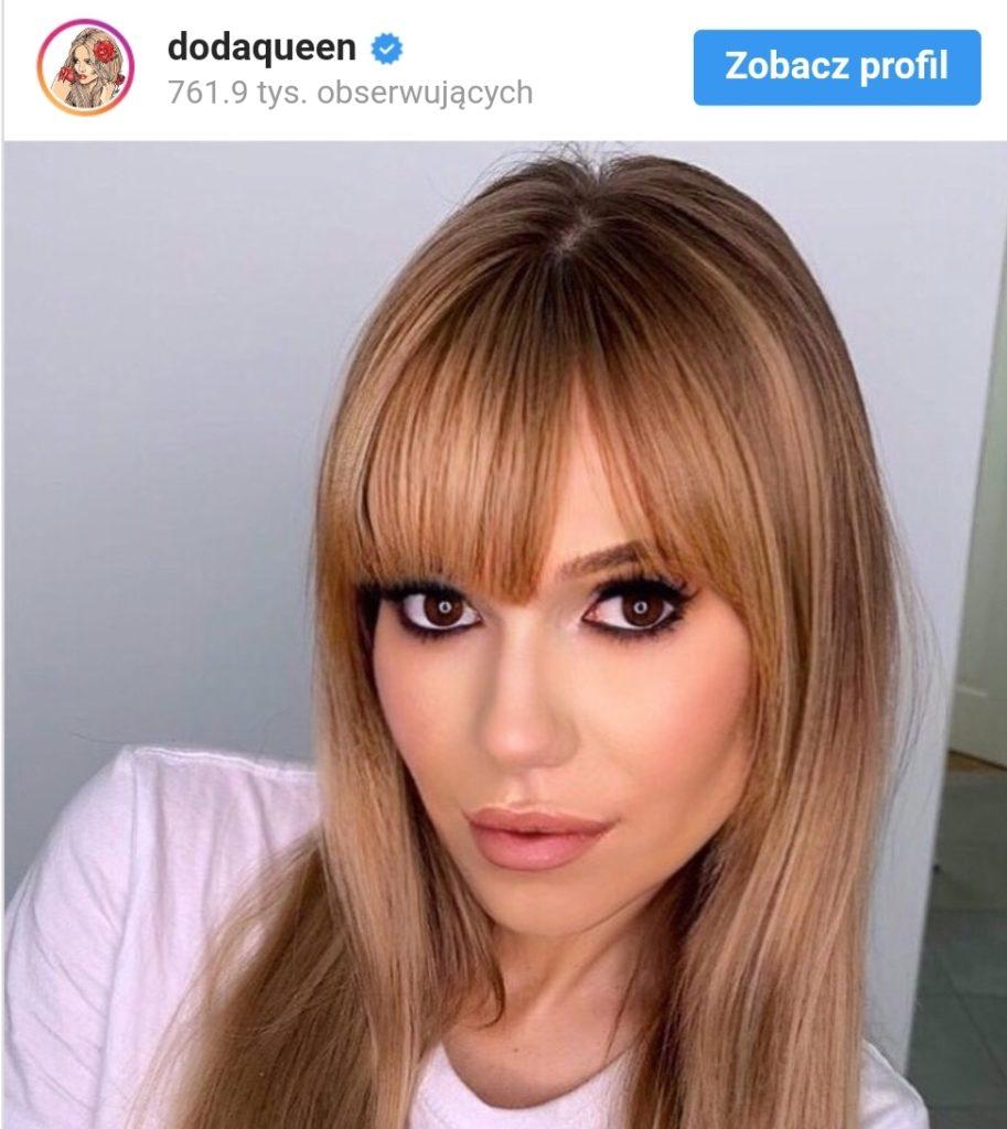 Doda jak Anna Przybylska. Niesamowite zdjęcie Dody na portalu instagram. Wokalistka Virgin szokuje metamorfozą fanów. To niesamowite