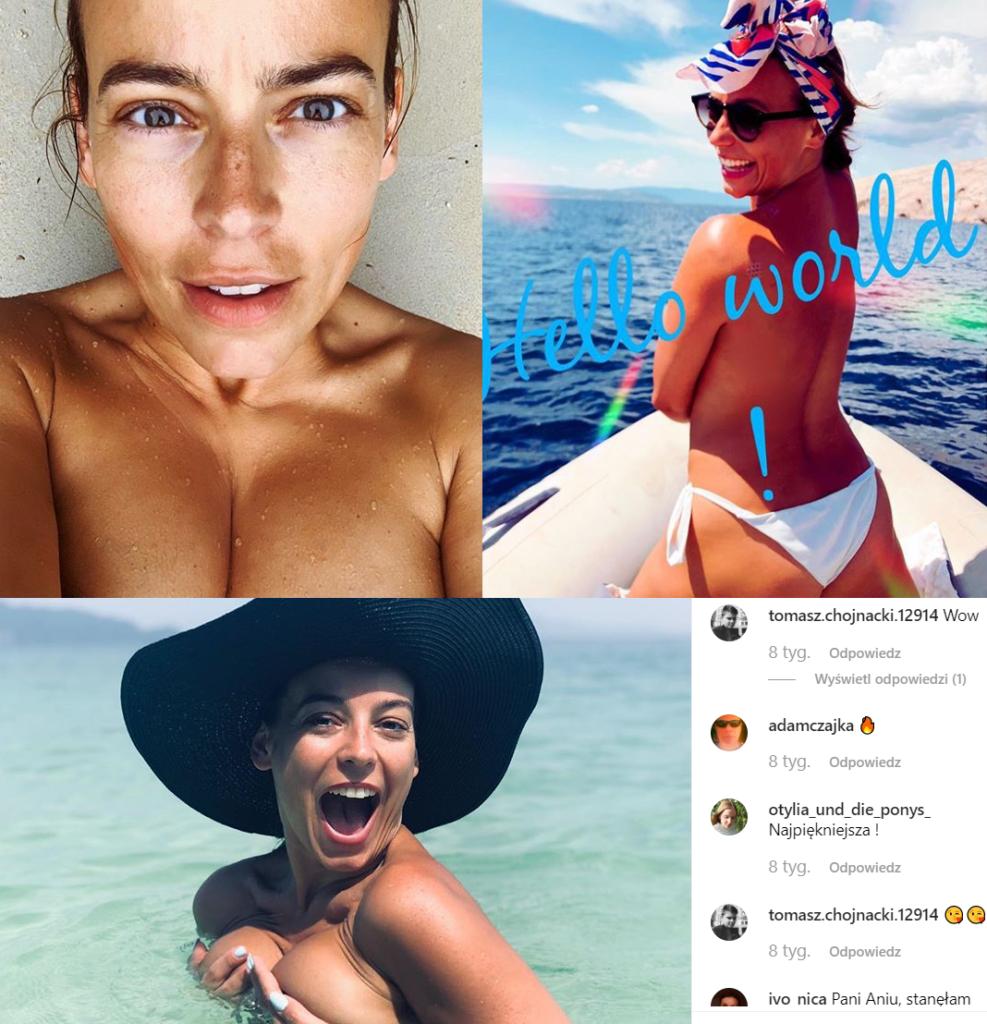 Anna Mucha nago pokazała się chociażby w Playboy. Gwiazda M jak miłość (TVP), postanowiła zaszokować fanów. Dodała kuszące zdjęcie na portalu Instagram.