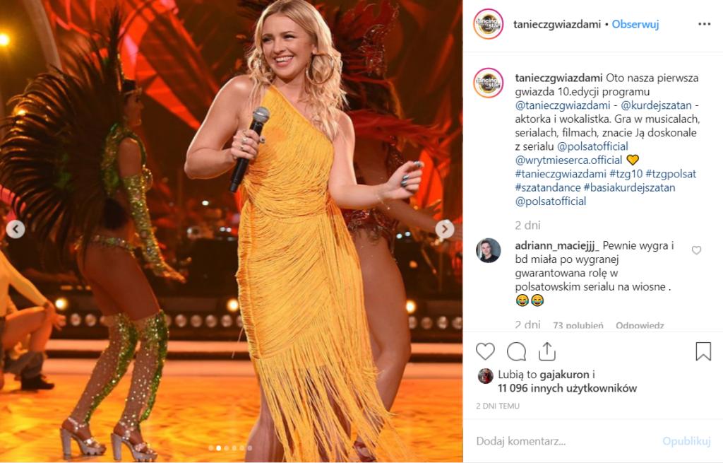 """Kurdej Szatan wystąpi w """"Taniec z gwiazdami"""" Polsat (sprawdź Instagram). Po zwolnieniu z TVP aktorka zacieśnia współpracę z Polsatem, gra też W rytmie serca"""
