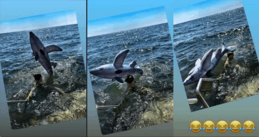 Katarzyna Cichopek (M jak miłość, TVP, Taniec z gwiazdami) zaatakowana przez rekina, zobacz na Instagram, spędza wakacje na Majorce.