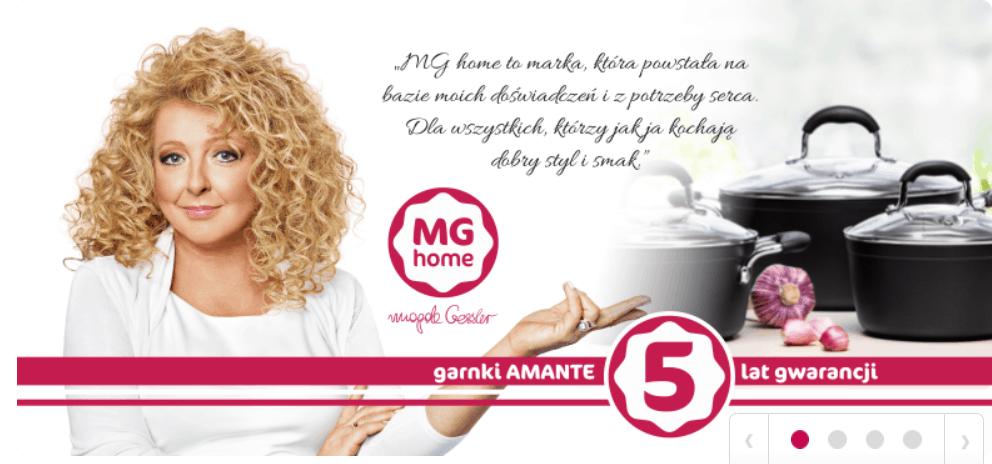 Biedronka: Magda Gessler (Kuchenne rewolucje, MasterChef, Sexy Kuchnia, TVN) będzie promować z sklepach nową gamę produktów.