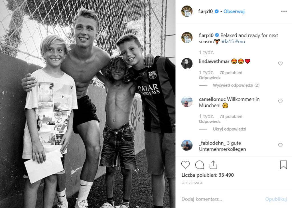 Robert Lewandowski ma konkurenta w Bayern Monachium (1 Bundesliga), to Jann- Fiete Arp jedna z gwiazd jaką ma reprezentacja U-19 Niemiec zobacz na Instagram