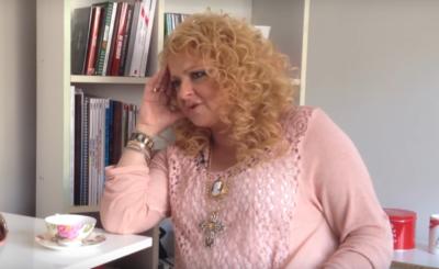 Magda Gessler (Kuchenne rewolucje, MasterChef, TVN) jej włosy są tematem dyskusji na portalu Instagram. Fani zastanawiają się, czy są naturalne.
