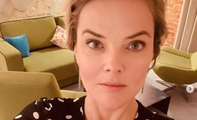 Monika Zamachowska (Pytanie na śniadanie, TVP) pokazała się na portalu Instagram w samym bikini, spędza wakacje nad morzem.