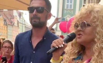 """Magda Gessler odwiedziła Wrocław, aby promować markę """"Ice Queen"""". Gwiazda TVN i show Kuchenne Rewolucje relację z wydarzenia zamieściła na portalu instagram"""