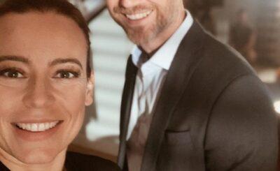 """Anna Mucha i jej tajemniczy partner Marcel Sora. Kim jest i w jaki sposób poznał gwiazdę TVP i serialu """"M jak Miłość""""? Czy mają dzieci?"""