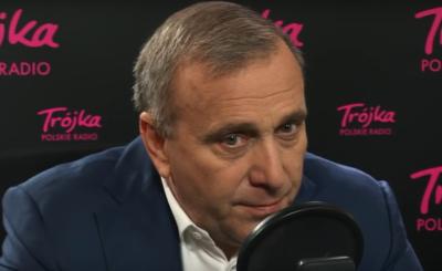 """Wpadka: Grzegorz Schetyna (PO) nie zna swojej """"szóstki"""" w Radio Zet. Wybory już niedługo, na razie w sondażach prowadzi Prawo i Sprawiedliwość."""