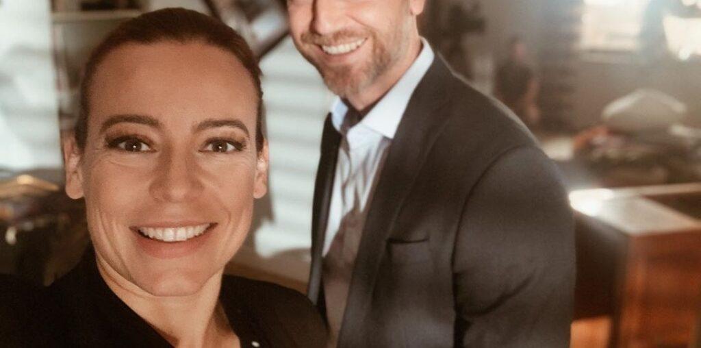 Anna Mucha to gwiazda TVP i serialu M jak Miłość,  która przez lata była związana z król-em TVN,  którym często określany jest Kuba Wojewódzki.