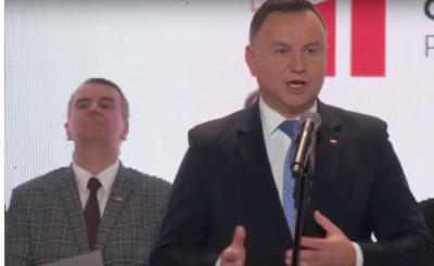 Wybory: Andrzej Duda tuż przed wyborami do polskiego parlamentu zwrócił się do Polaków w orędziu. Nawiązał do wysokiej frekwencji przy wyborach do EU.