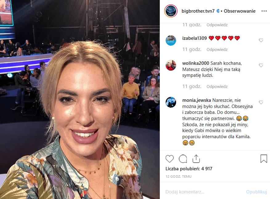 """Kamil Lemieszewski znów ocalił skórę i pozostanie w programie. Instagram i Facebook wrze. A co zobaczymy dziś w """"Big Brother"""" (21 października, TVN7)?"""
