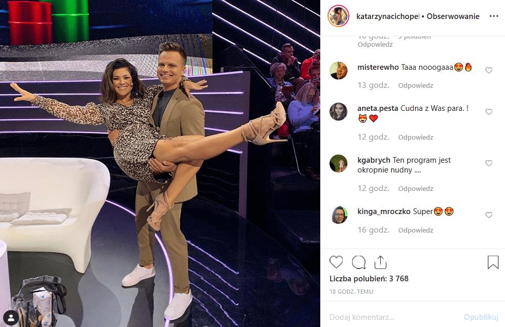 """3 odcinek show """"Czar par"""" za nami. Czy para Cichopek Hakiel uratuje nową propozycję TVP2? Facebook i Instagram wątpi w to."""