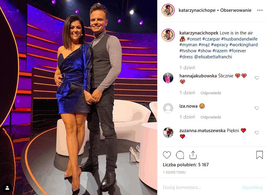 """18 października na TVP2 nowy odcinek show """"Czar par"""". Co pokażą Katarzyna Cichopek (""""M jak miłość) i Marcin Hakiel? Jak wypadną pary?"""