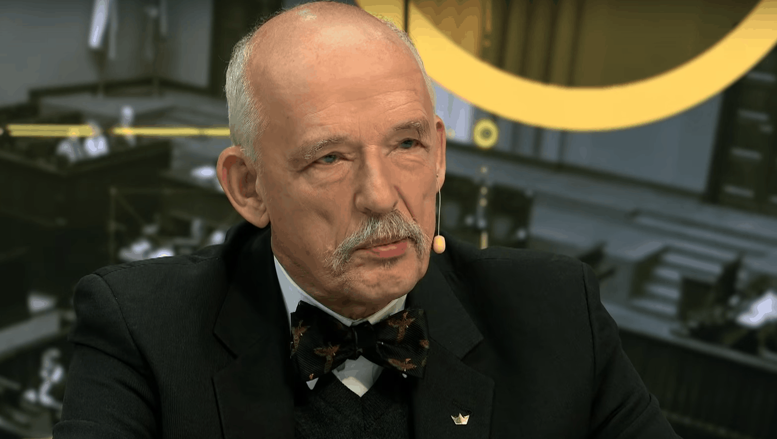 Eliza Michalik w rozmowie z Januszem Korwin Mikke nawiązała do jego wypowiedzi na temat pedofilii, dziennikarka odniosła się do córki polityka.