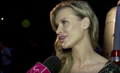 """Joanna Krupa i jej ciąża to gorący temat. Krupa, jurorka """"Top model"""" (TVN), wykorzystuje swój brzuch by zareklamować kremy, ale Instagram wie lepiej."""