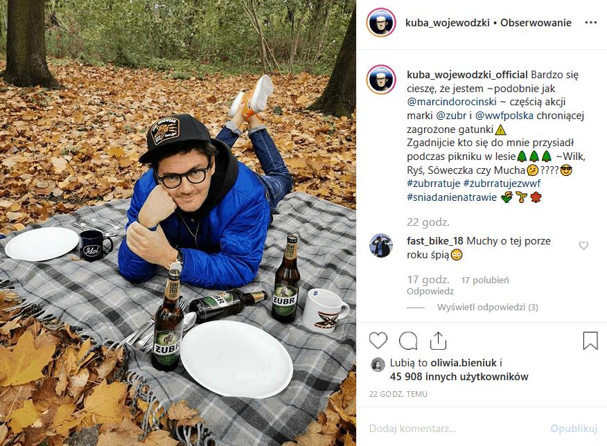 """Czy Wojewódzki i Mucha mają romans pyta Instagram na widok fotki, jaką wrzucił Król TVN. Gwiazda """"M jak miłość"""" (TVP2) została oznaczona w opisie zdjęcia."""