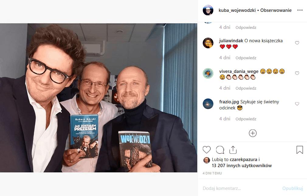 29 października, Kuba Wojewódzki show odwiedzi Robert Górski i Łukasz Simlat. Zapowiedzi w serwisie Instagram pokazują, że będzie wesoło. Co zrobi Król TVN?