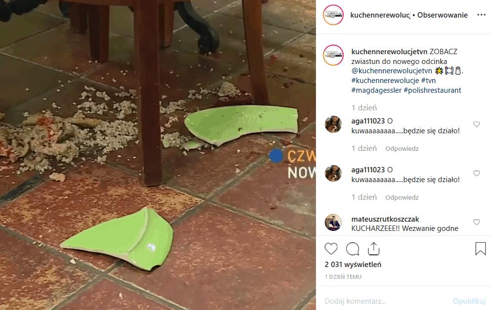 """24 października Magda Gessler i """"Kuchenne rewolucje"""" (TVN) zawitają do Prudnika. Co zastanie tam gwiazda show """"MasterChef""""? Instagram zamarl w oczekiwaniu."""