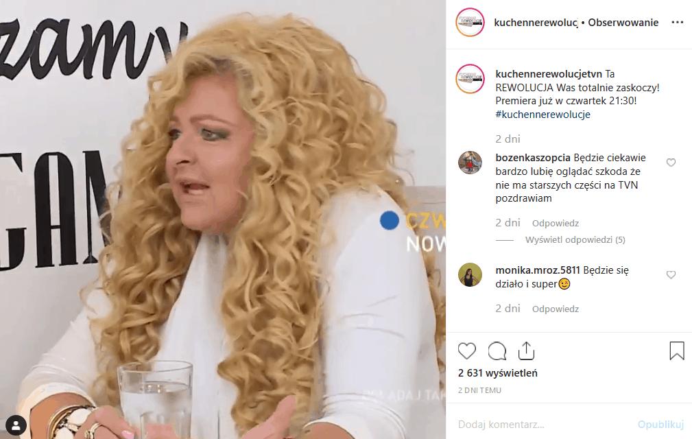 """31 października Magda Gessler i Kuchenne rewolucje odwiedzą Płock. Instagram pokazuje, że Królowa TVN, jurorka """"MasterChef"""" będzie miała trudne zadanie."""