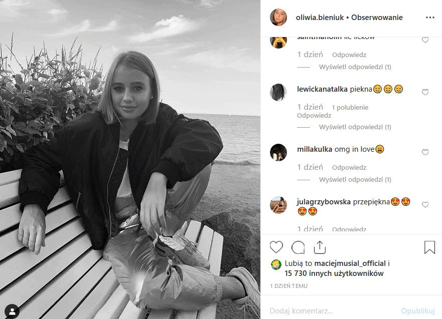 Śmierć Przybylskiej poruszyła nas, ale Anna Przybylska nie odeszła. Jej córka, Oliwia Bieniuk, którą wychowuje Jarosław Bieniuk dorasta. Instagram ją kocha.