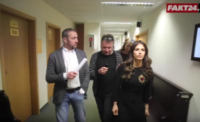 """Konflikt Rosati - Śmigielski trwa. Gwiazda TVN i Polsat (""""Zawsze warto) opublikowała na portalu Instagram zdjęcia mężczyzny pod jej domem. Ten zaprzecza."""