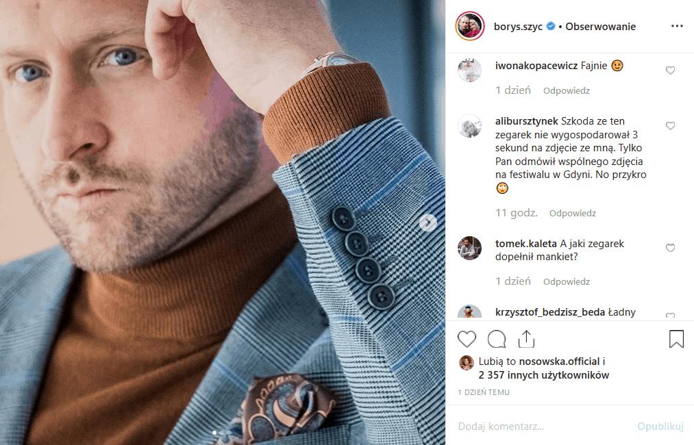 """Nie za Instagram, a za maniery pamięta Gdynia i Festiwal Polskich Filmów Fabularnych gwiazdę filmu """"Wojna polsko-ruska"""". Szyc, filmowy Piłsudski, przegina."""