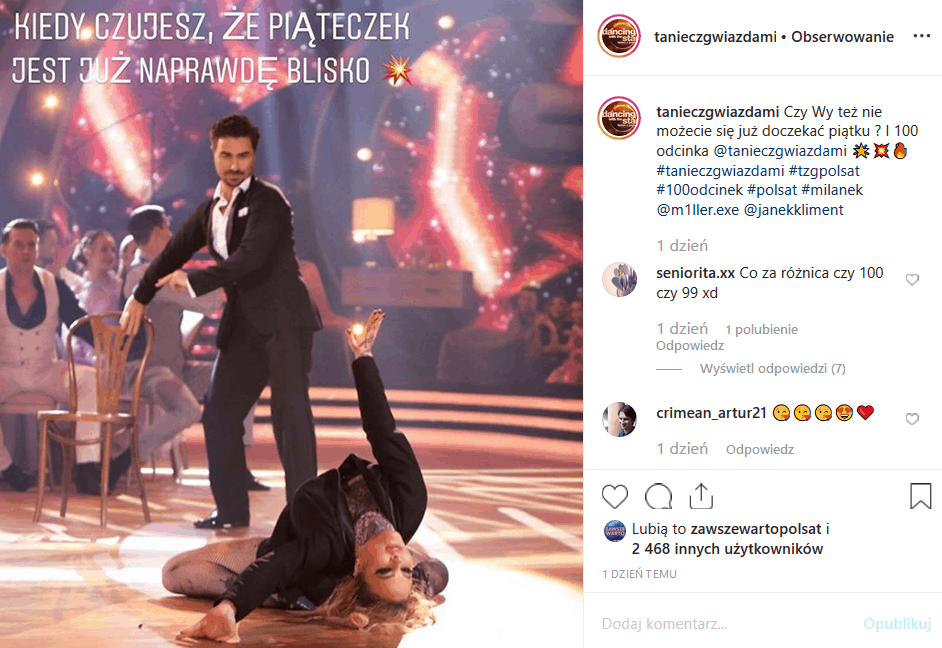 """18 października Polsat puści 100 odcinek show """"Taniec z gwiazdami"""". Instagram już wrze. Jak Barbara Kurdej Szatan (""""M jak miłość"""") poradzi sobie z presją?"""