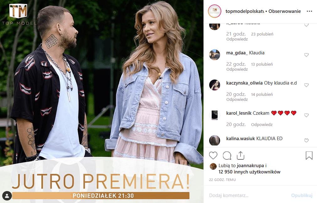 """14 października do """"Top Model"""" (TVN) dołączy nowy uczestnik. Co dziś zaprezentuje Michał Piróg i Joanna Krupa? Kto odpadnie. Instagram ma już swoje typy."""