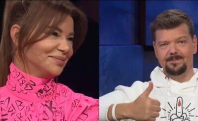 Kuba Wojewódzki, Edyta Górniak i Michał Figurski gościli w programie popularnego króla TVN. Jednym z tematów dyskusji była kwestia syna (Allan Krupa)
